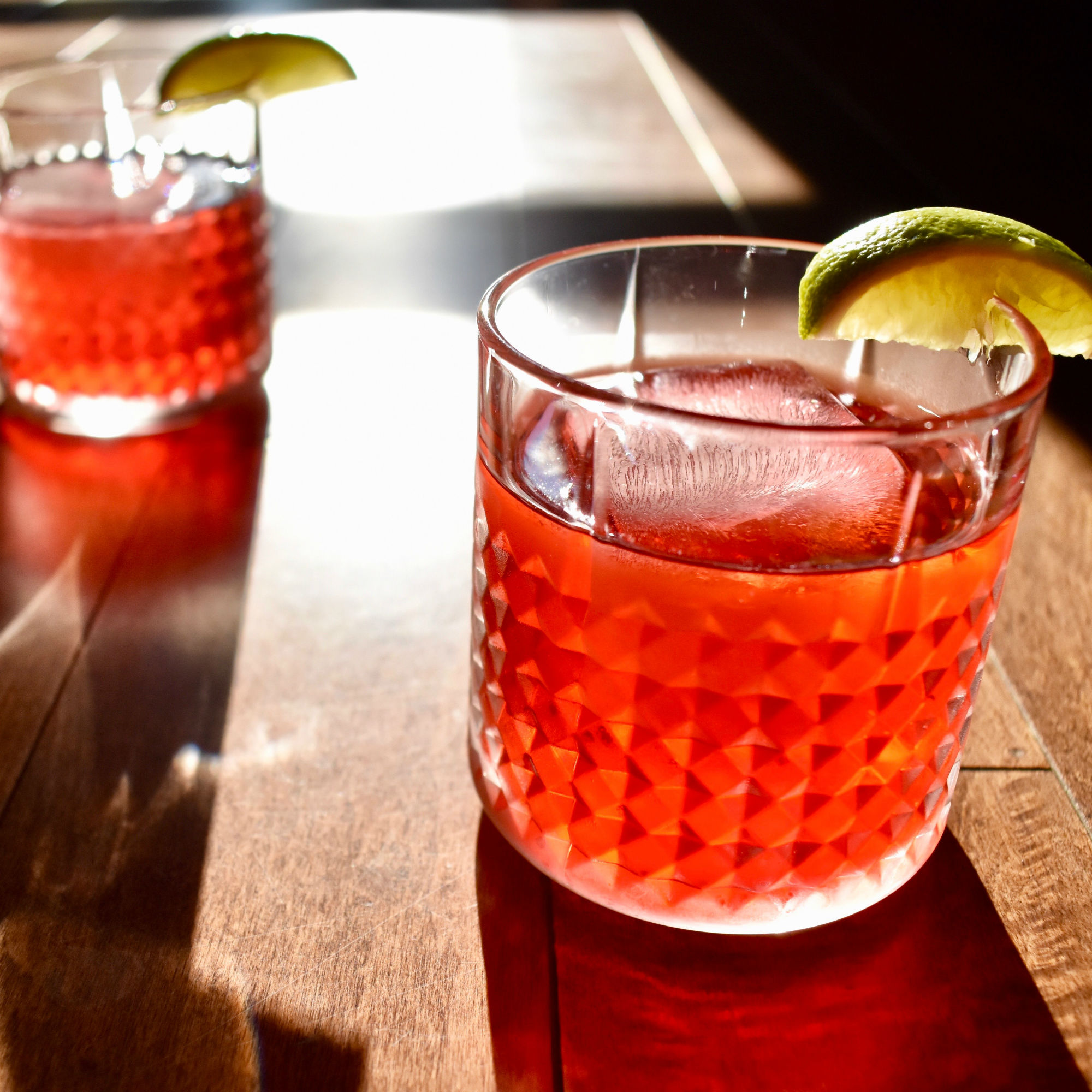 Trade Eights | Hibiscus Lime +Gin Cocktail