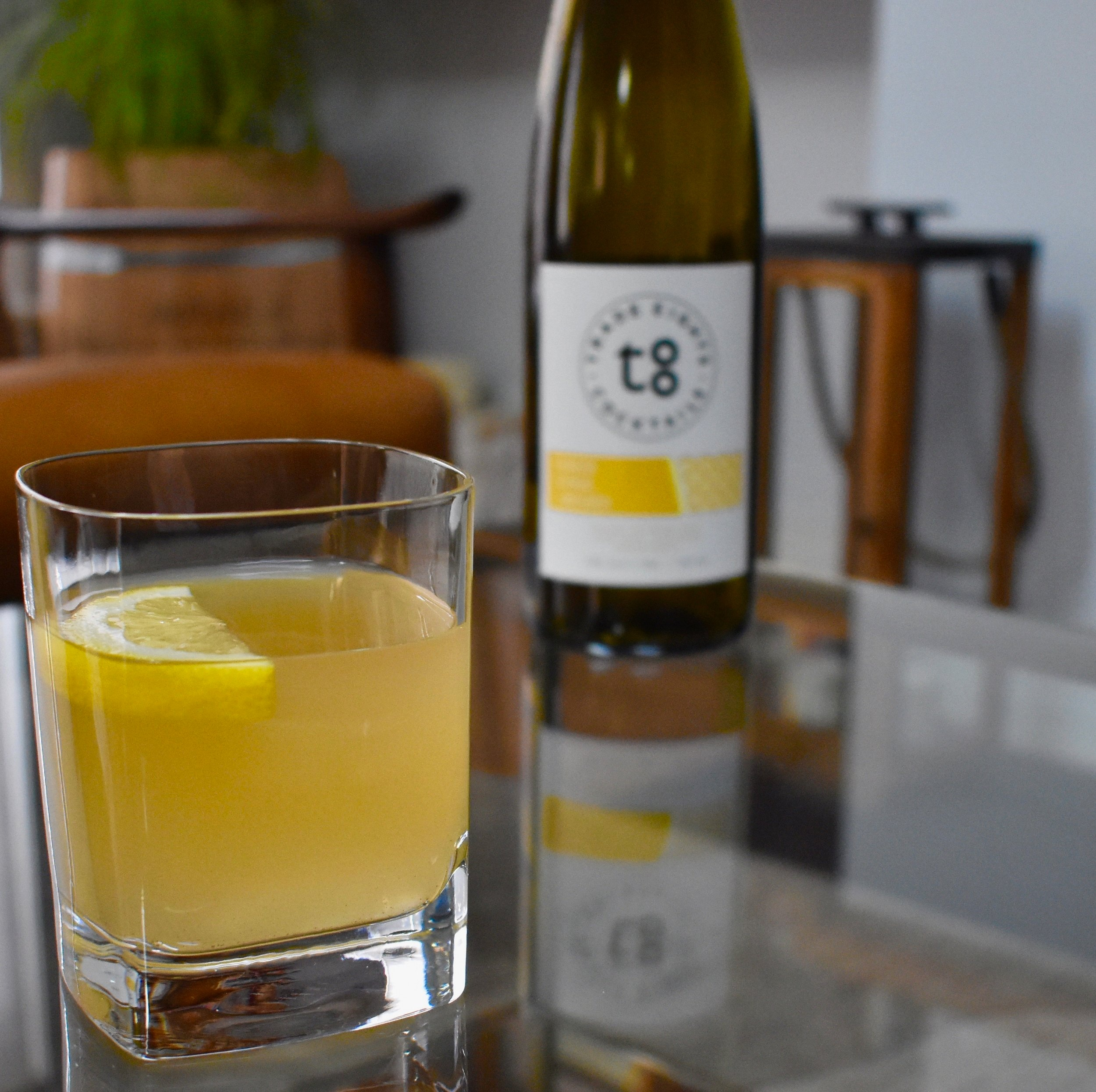 Trade Eights | Ginger Citrus +Whiskey Cocktail