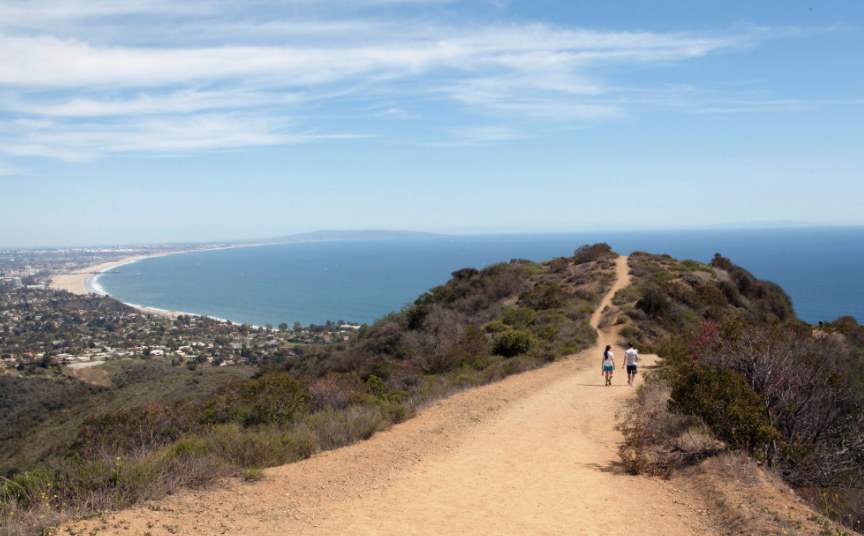 Beautiful Los Leones Trail.  Photo courtesy of State Park