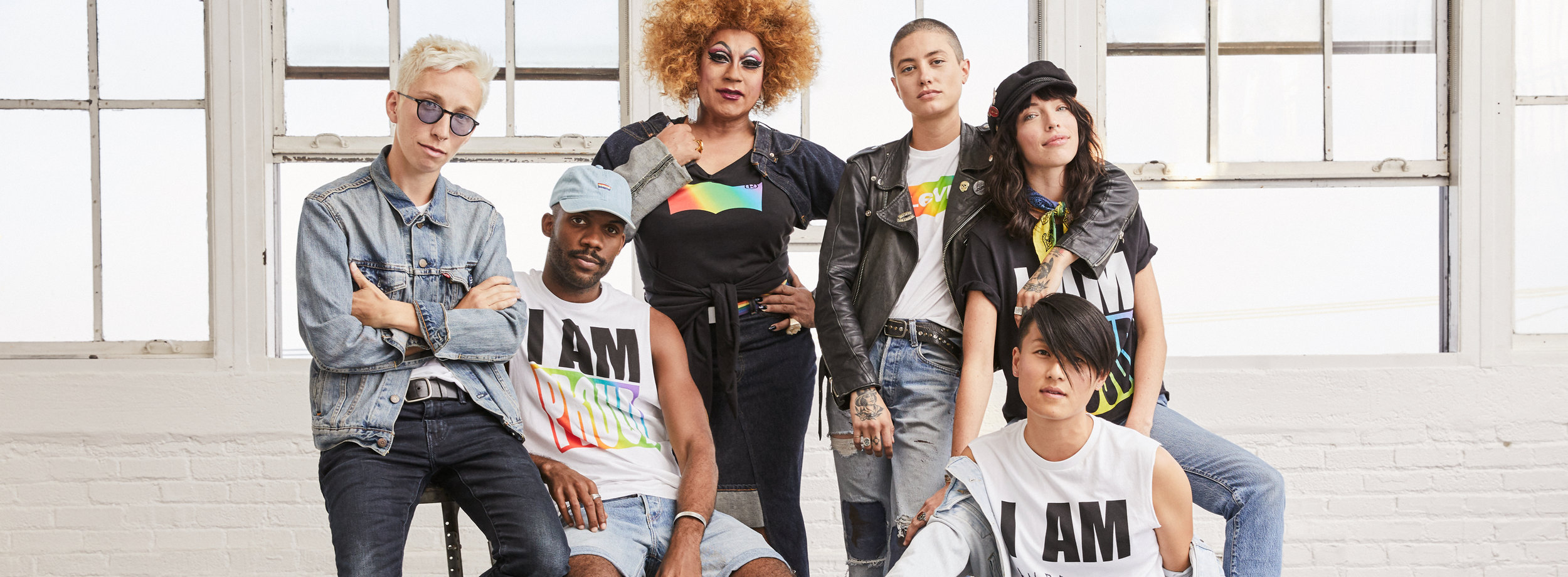 Photo courtesy of Levi's Off The Cuff Pride Collection