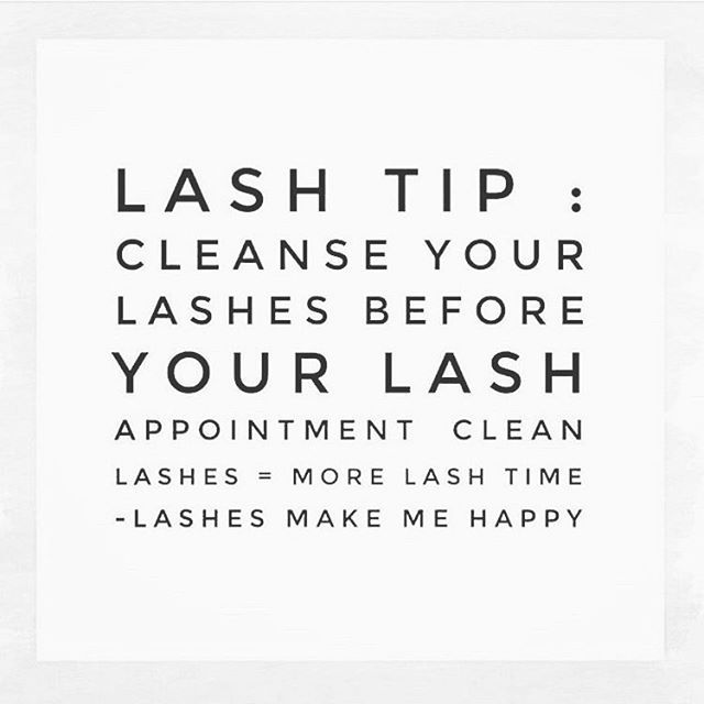 Cleaner lashes mean more lashing time and fuller lashes!  It's a win, win, win!