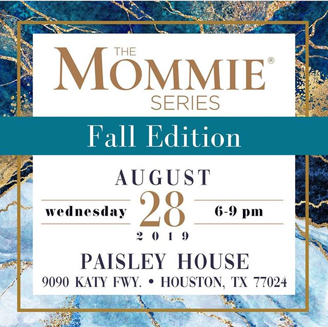 """There's nothing quite like Mommie-ing, and the ride is made even sweeter with this amazing group of women in my life. One of my newest hats is being a """"mombassador"""" for The Mommie Series, and I'm so excited to invite you all to the fall edition on August 28th at @thepaisleyhouse in HTX! Sip, shop, give back and feel empowered with an incredible line up of speakers who'll be talking on topics like family, health and fashion. Tickets and more info available at the link in my profile. I hope you'll join me next Wednesday! ❤️"""