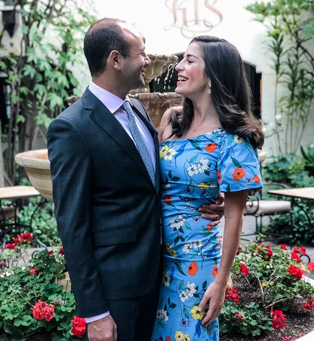 Had to sneak in a few wedding photos of our own at our friends' gorgeous wedding weekend. 💙❤️