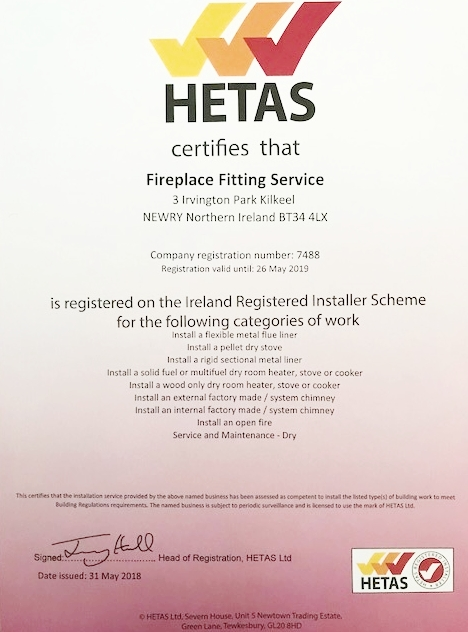 HETAS REGISTRATION