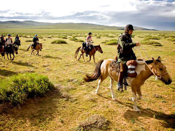 Photograph by Anya Campbell, The Mongol Derby, The Adventurists