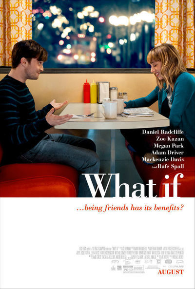 The US poster for WHAT IF.