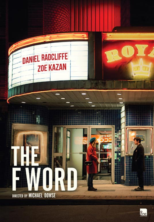 The Canadian teaser poster for THE F WORD