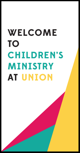 Download our Children's Ministry Brochure -