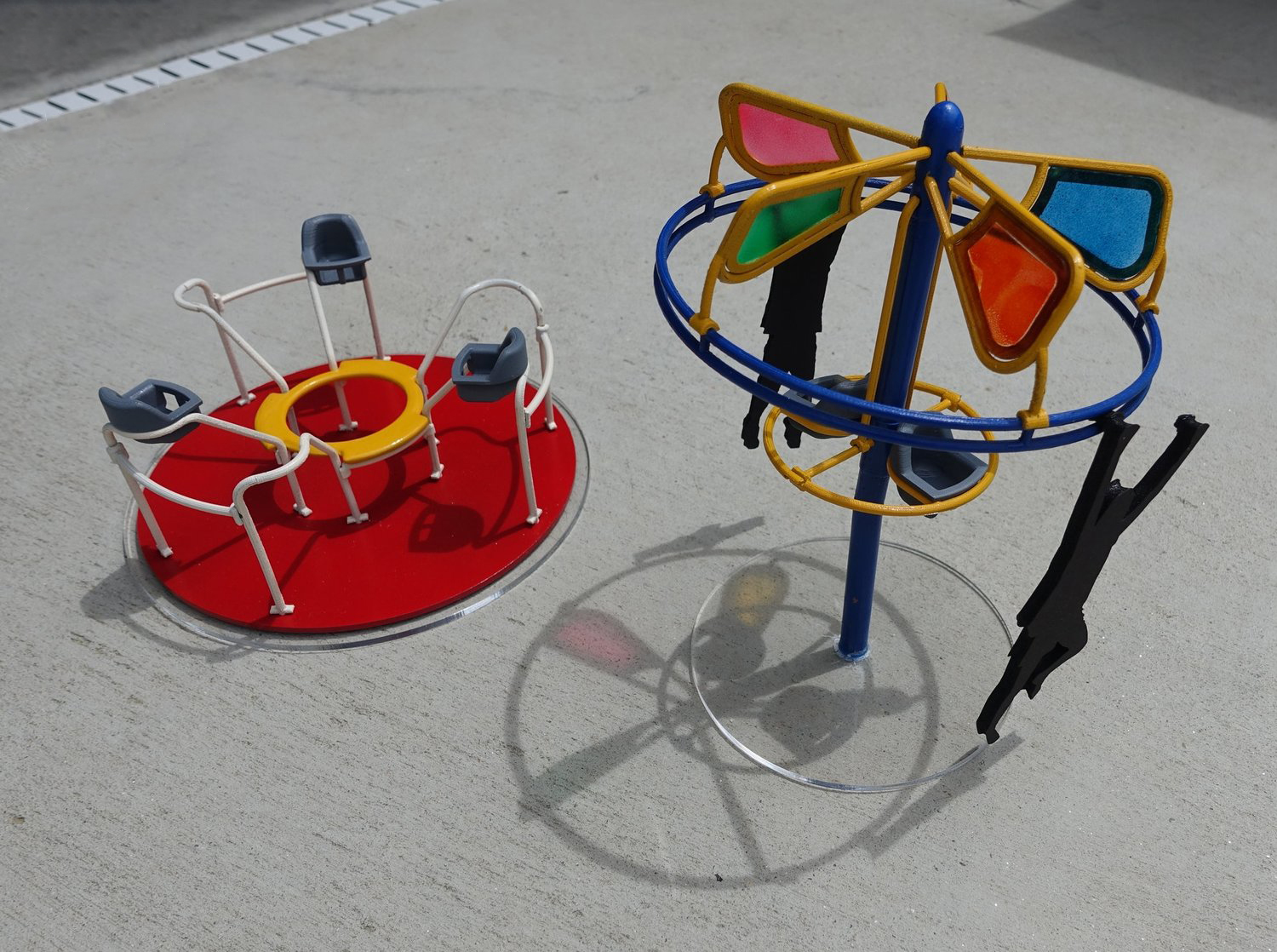 Play Equipments /   modeled in Solidworks, 3d printed;  sponsored project