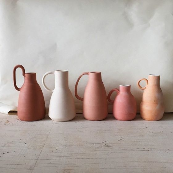 Really into the idea of reimagining simple objects, like a water pitcher or vase.