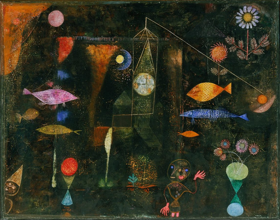 Fish Magic. Paul Klee. Philadelphia Museum of Art.