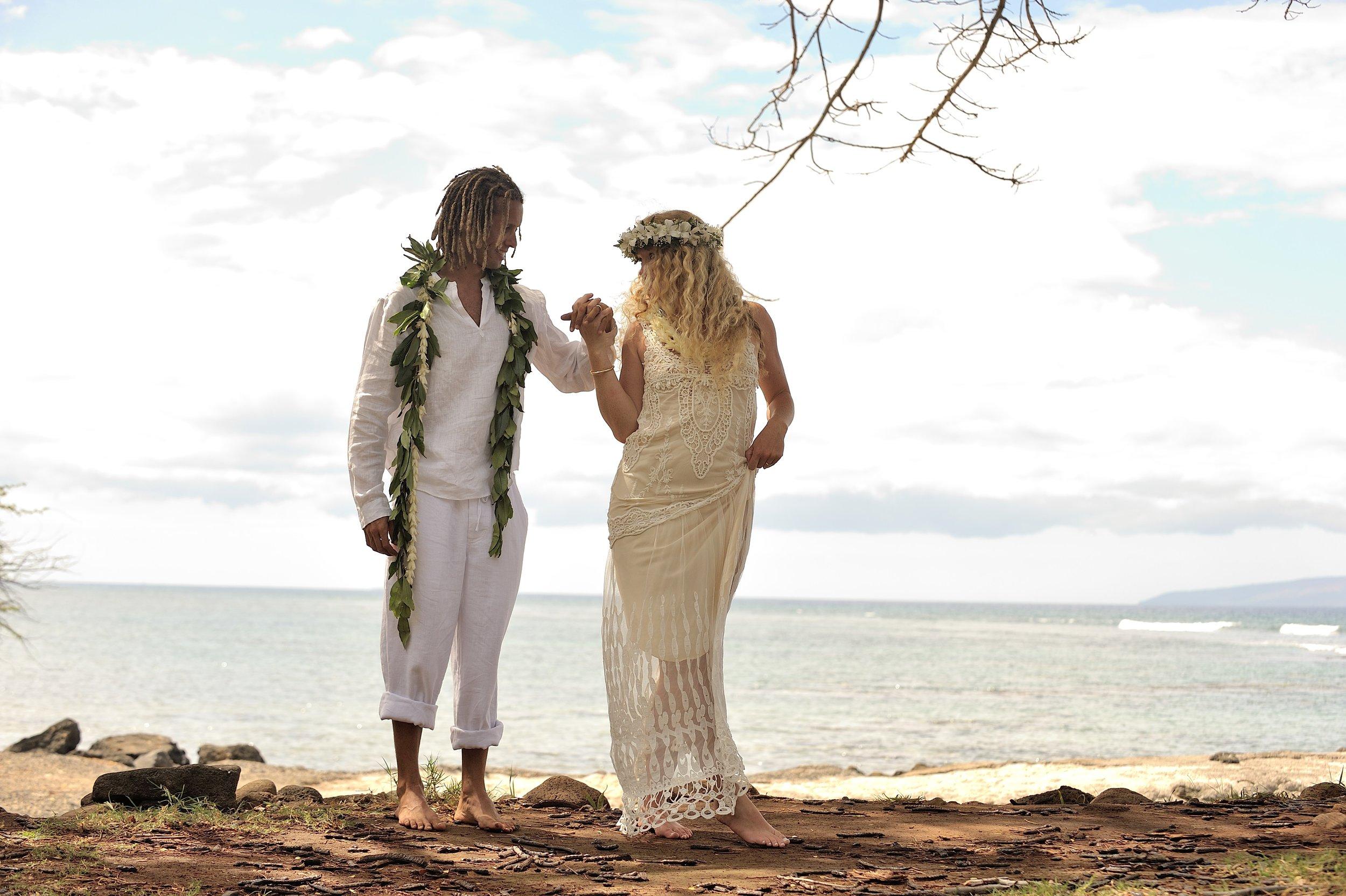 Kelley + Vini on their wedding day