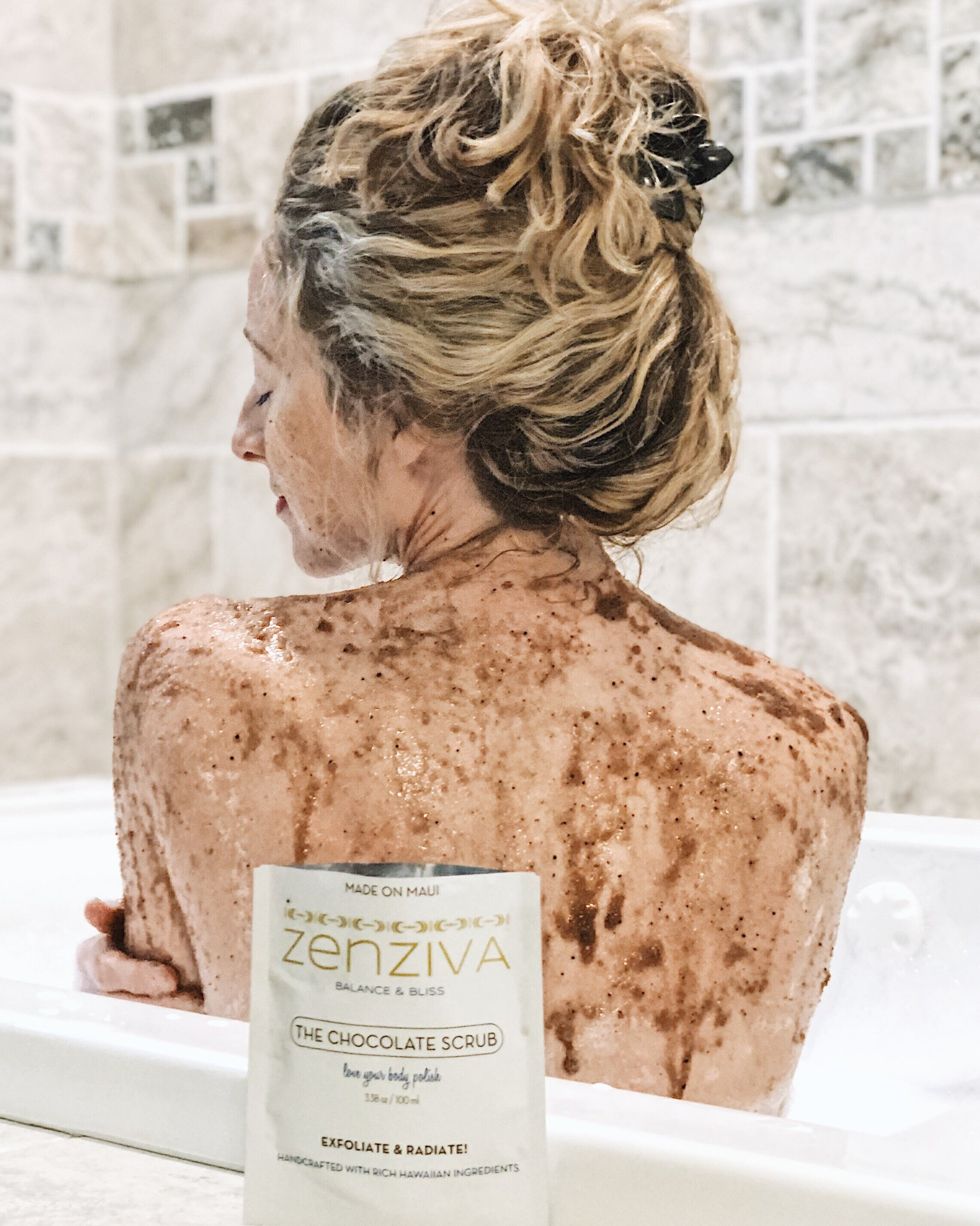 Self Love Chocolate Scrub