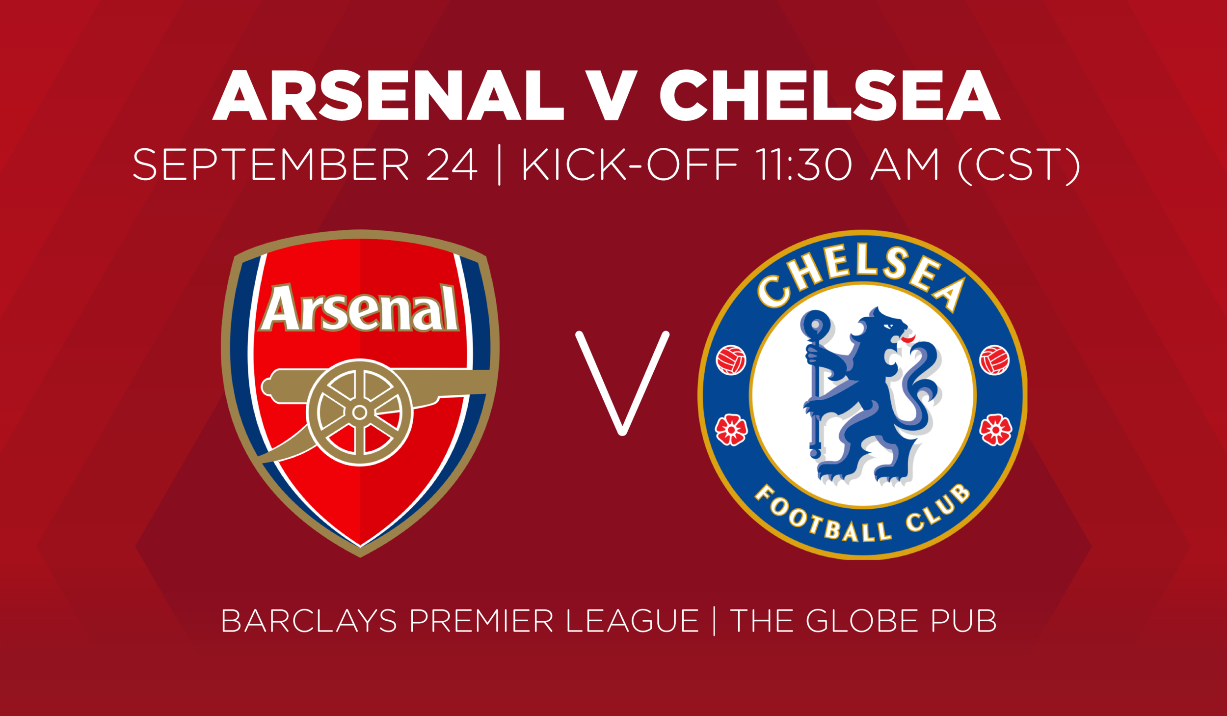 Arsenal V Chelsea September 24