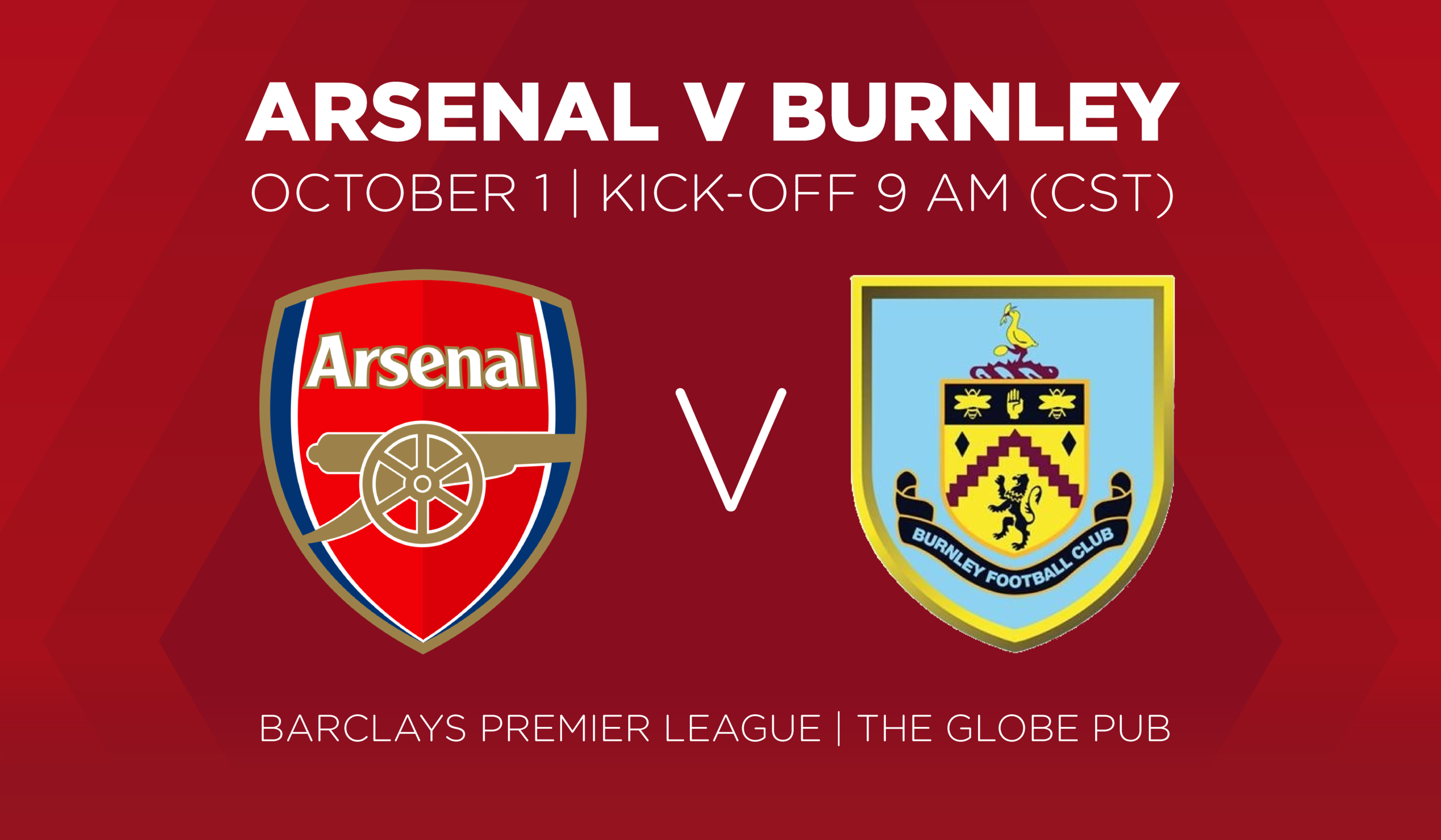 Arsenal V Burnley October 1