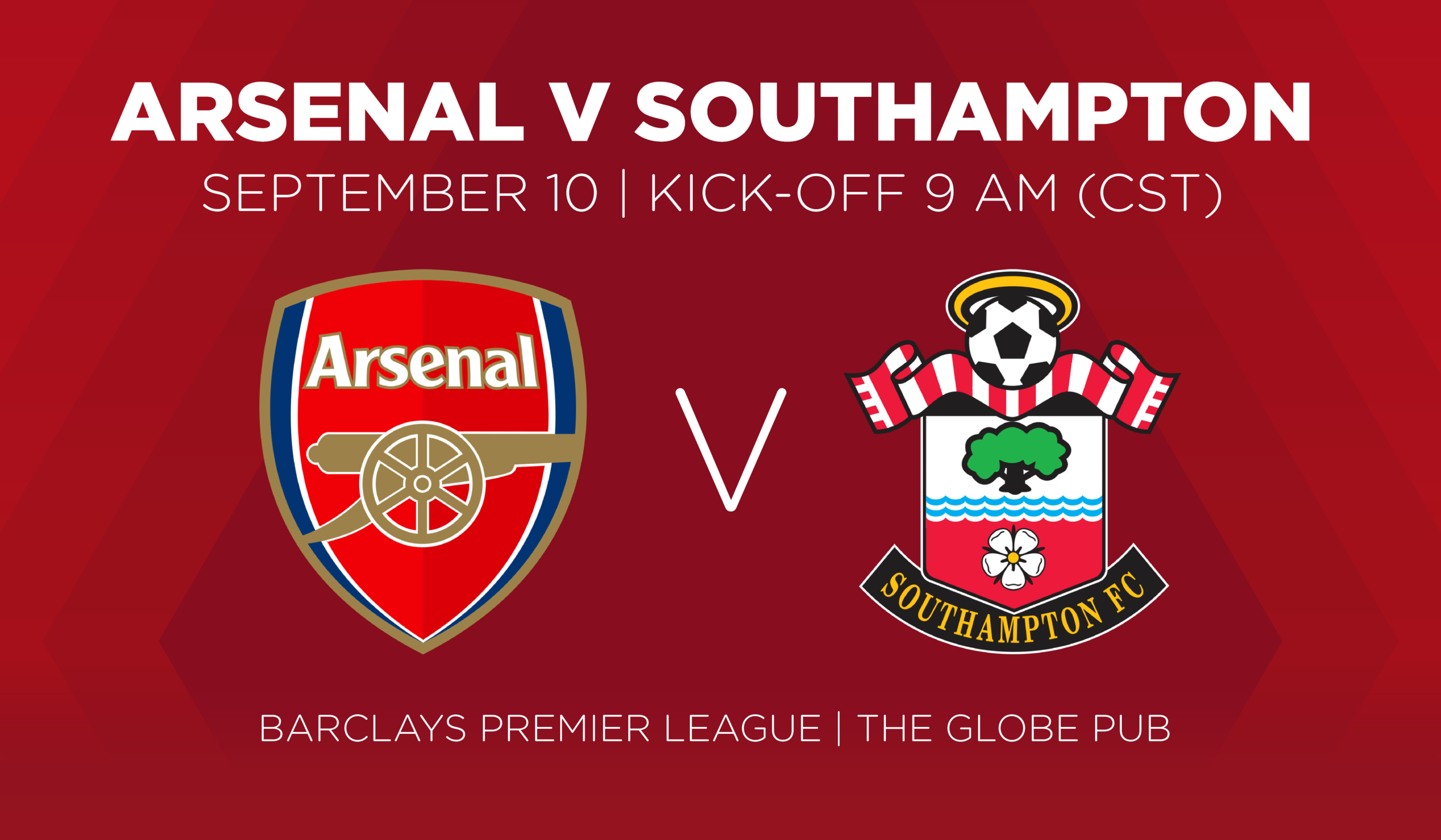 Arsenal V Southampton September 10