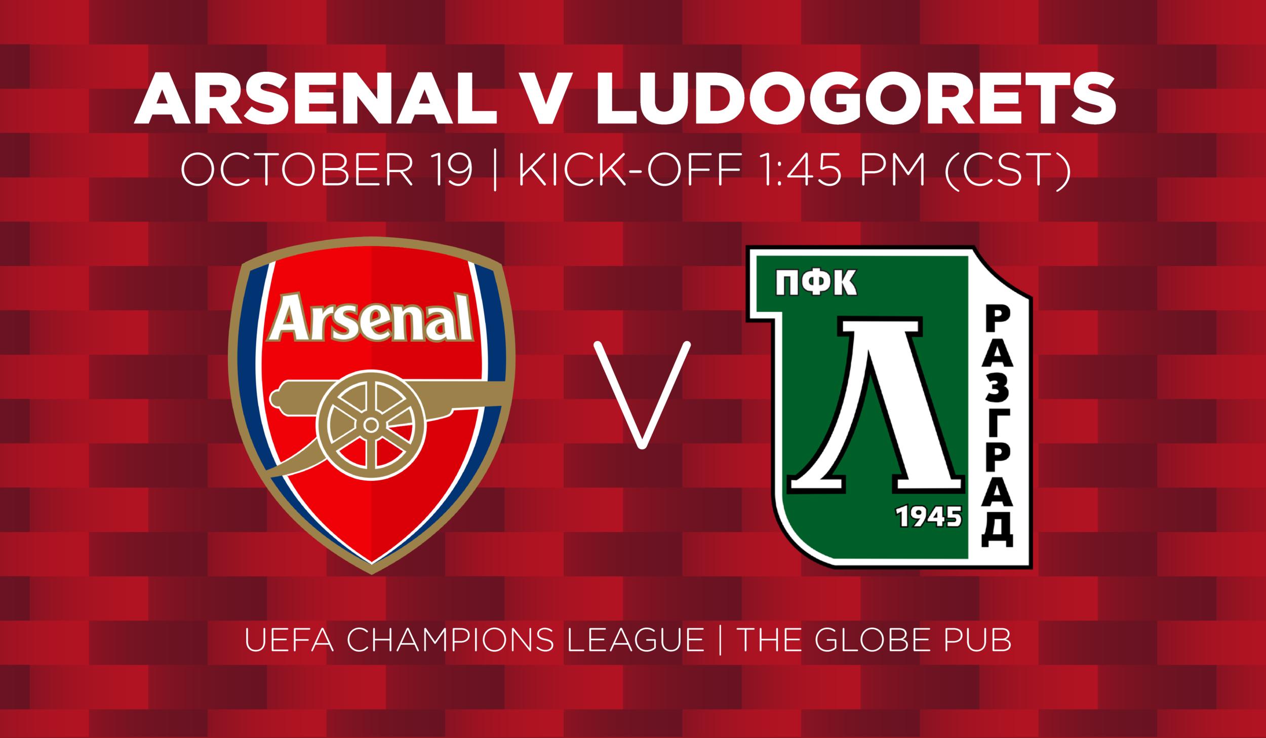 Arsenal V Ludogorets
