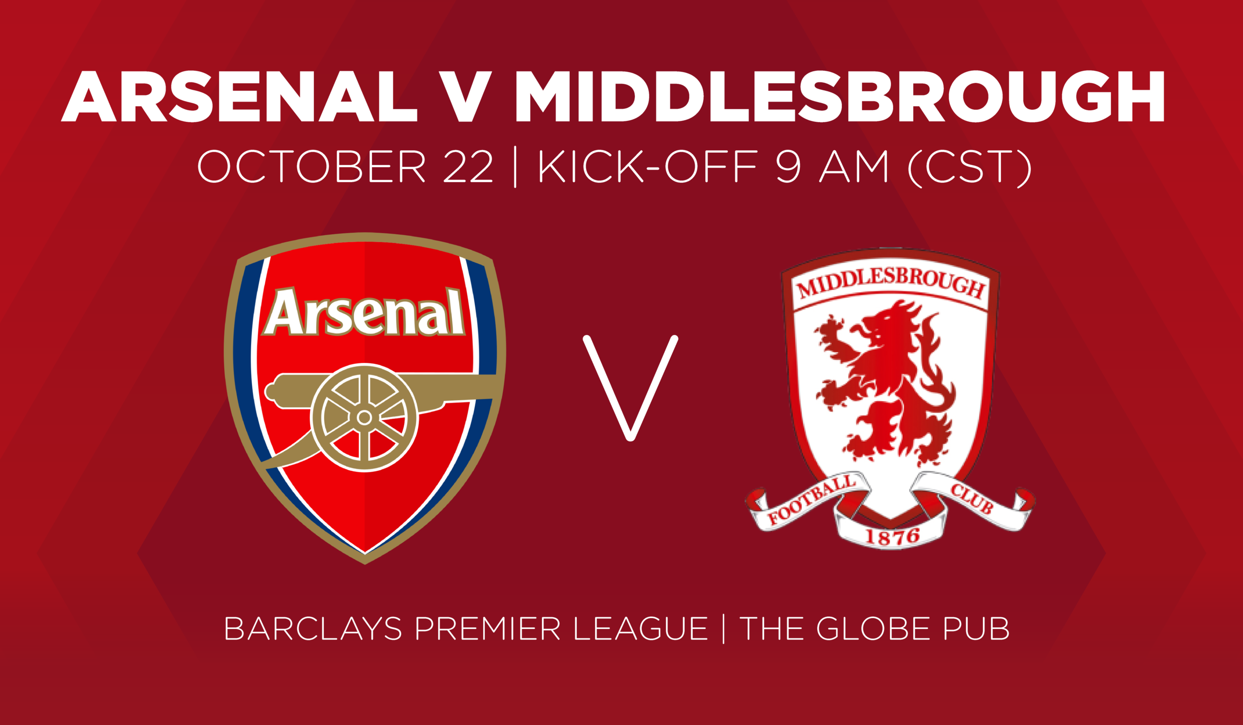 Arsenal V Middlesbrough