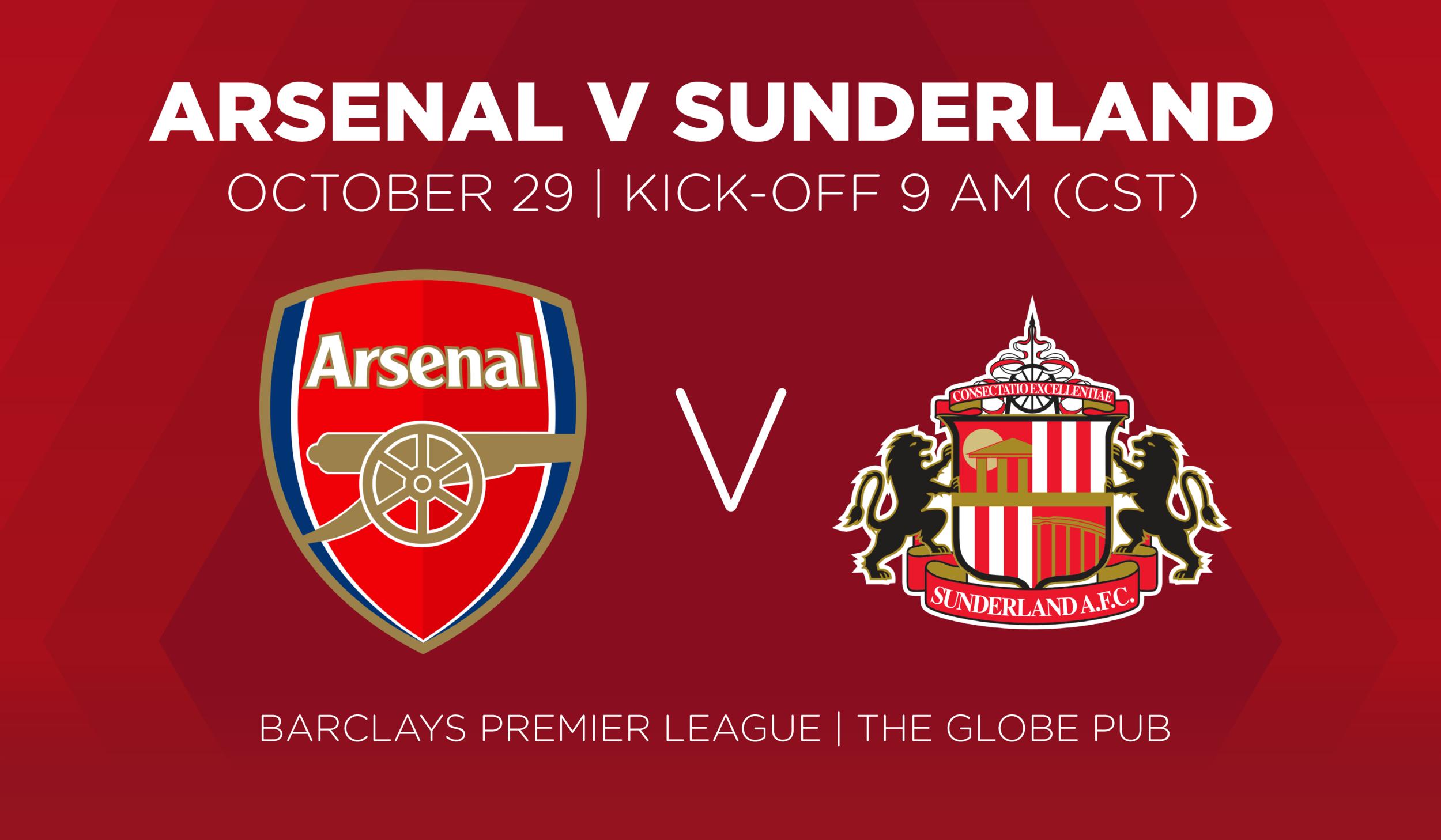 Arsenal V Sunderland