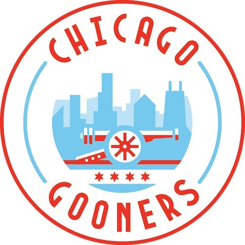 We'd like to announce our own new signing today! Check out our sweet new logo. ✨ #Arsenal #AFC #COYG #ChicagoGooners #Gooners #Gunners