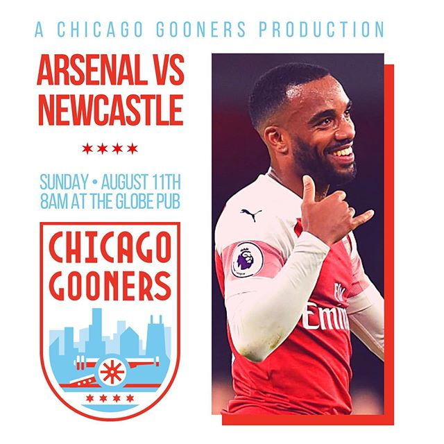 It's the most wonderful time of the year! 🍻 Join us at @theglobepubchicago for the start of #Arsenal's 2019-20 season! #AFC #COYG #ChicagoGooners #Gooners #Gunners