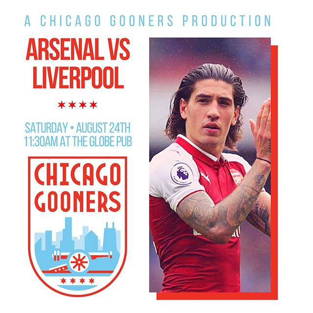 🚨 Arsenal vs Liverpool at the Globe this Saturday will be 21+! 🚨  If you are with family or a large group that needs seating, we highly recommend you walk down the street to @piggerychicago instead. Their brunch is delicious!  #ChicagoGooners #COYG #Arsenal #AFC #Gunners #Gooners