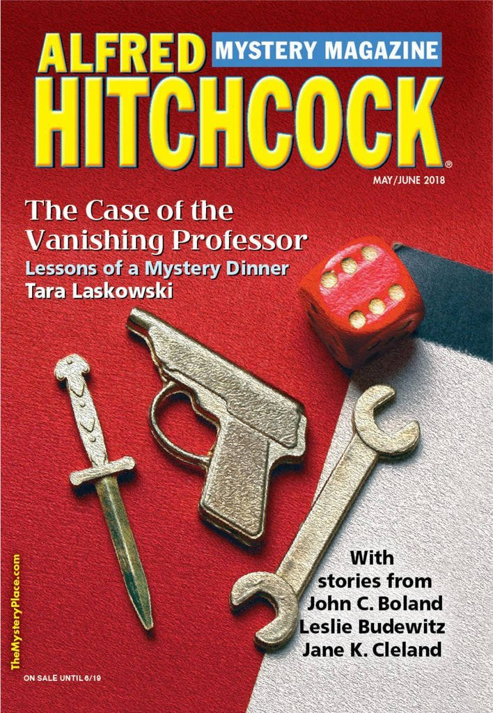 Alfred Hitchcock Mystery Magazine - I got the idea for my short story,