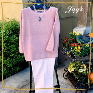 Beautiful Mocha Pink Sweater