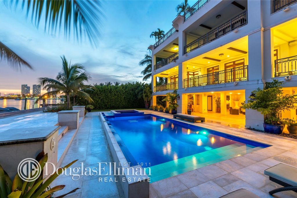 288 S Coconut Ln. Palm Island Mansion
