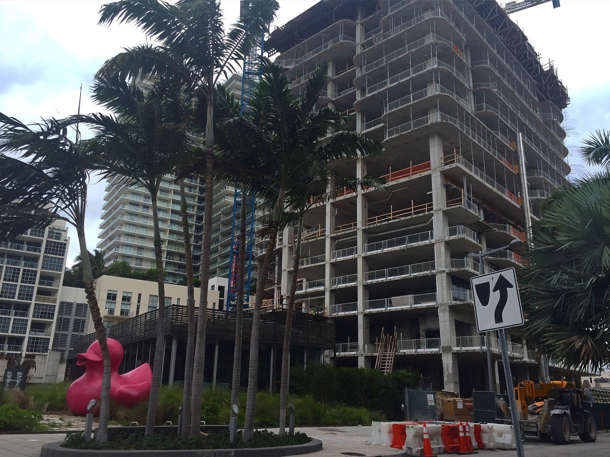Hyde Midtown Construction Update September 1, 2016
