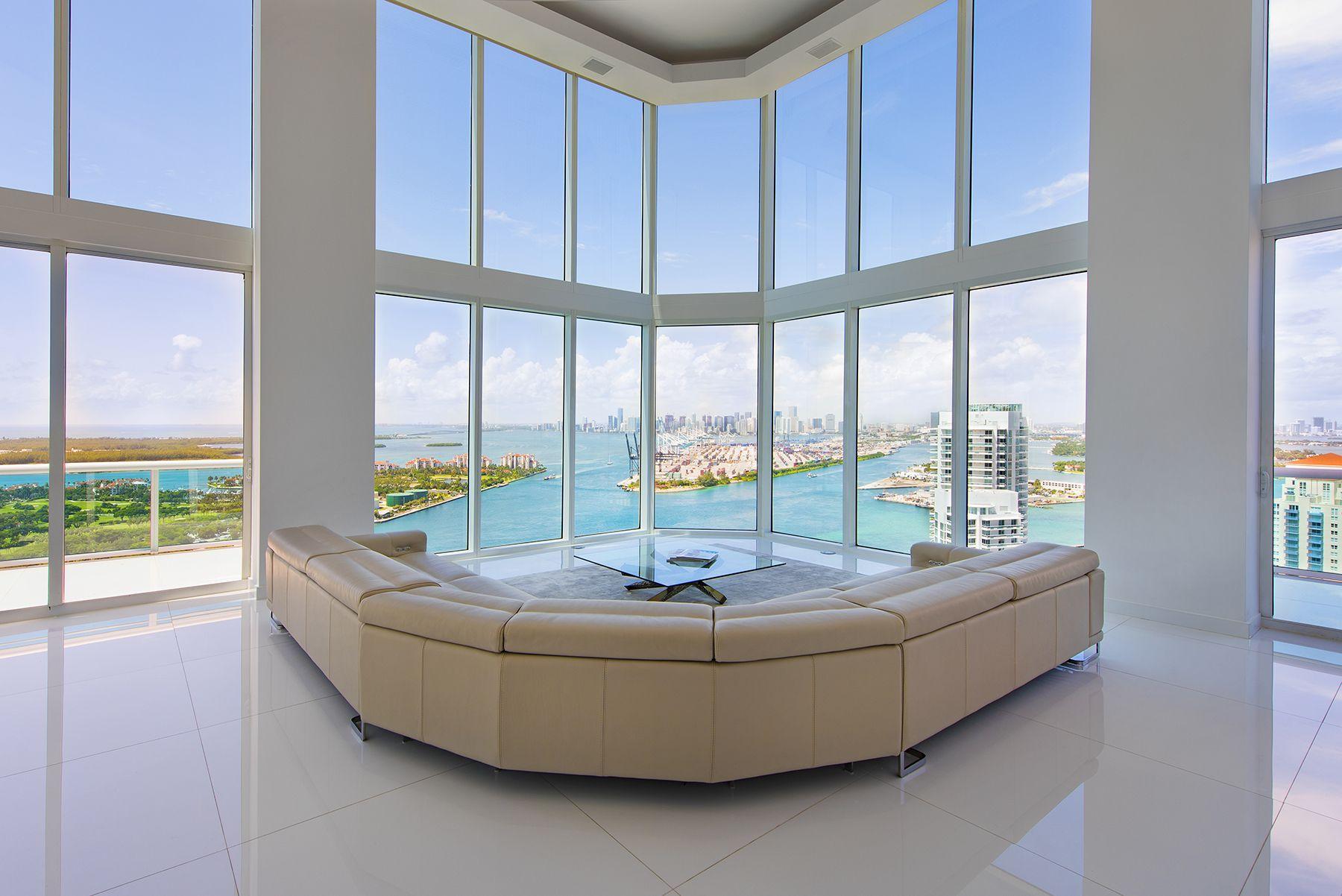 PH4003 Portofino Tower South Pointe Miami Beach Penthouse