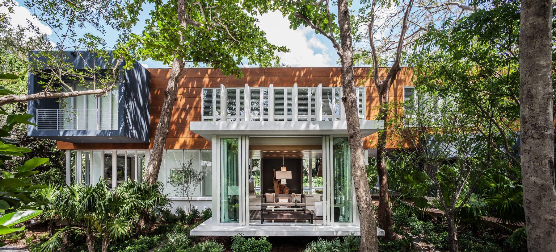 Coconut Grove Hammock House Shulman Associates
