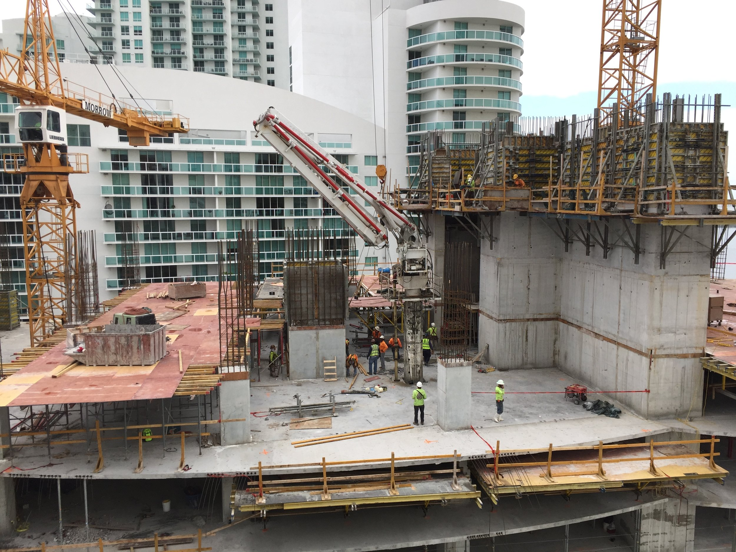 Aria on The Bay Construction Update