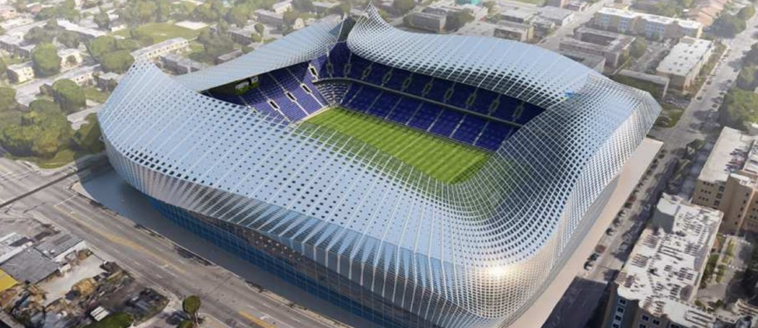 David Beckham Miami Soccer Stadium