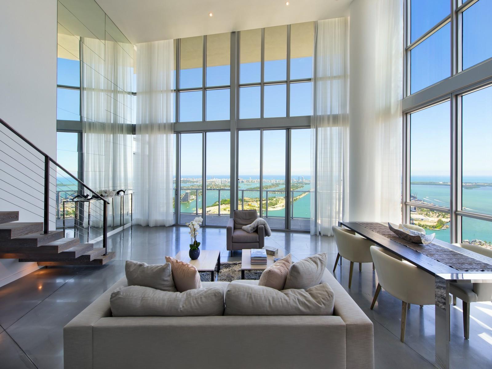 Marquis Residences PH6301 1100 Biscayne Blvd