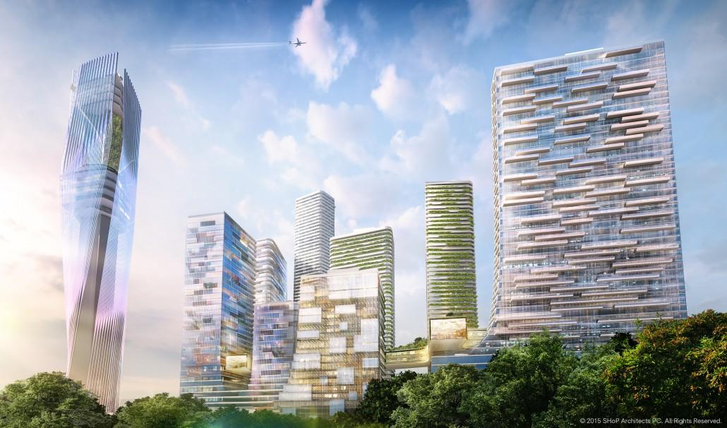 Miami Innovation District Park West