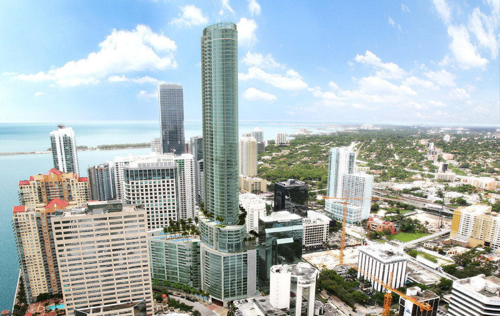 Construction Update: Panorama Tower Passes Four Seasons Miami, Becomes Tallest Building in Florida