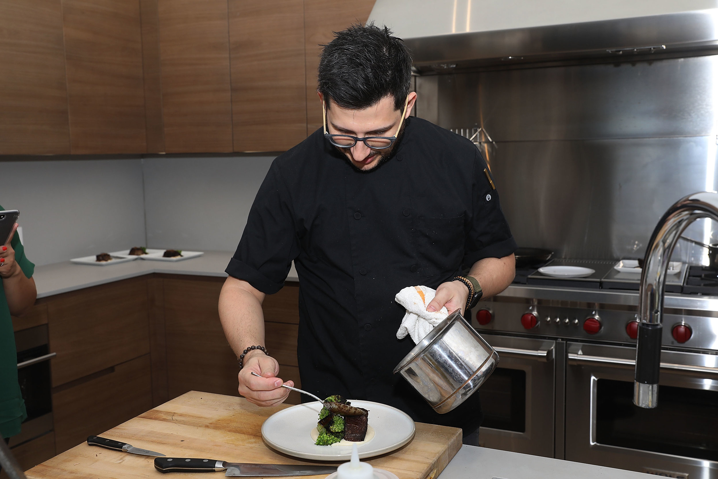 Chef Giorgio Rapicavoli of Vine & Glass