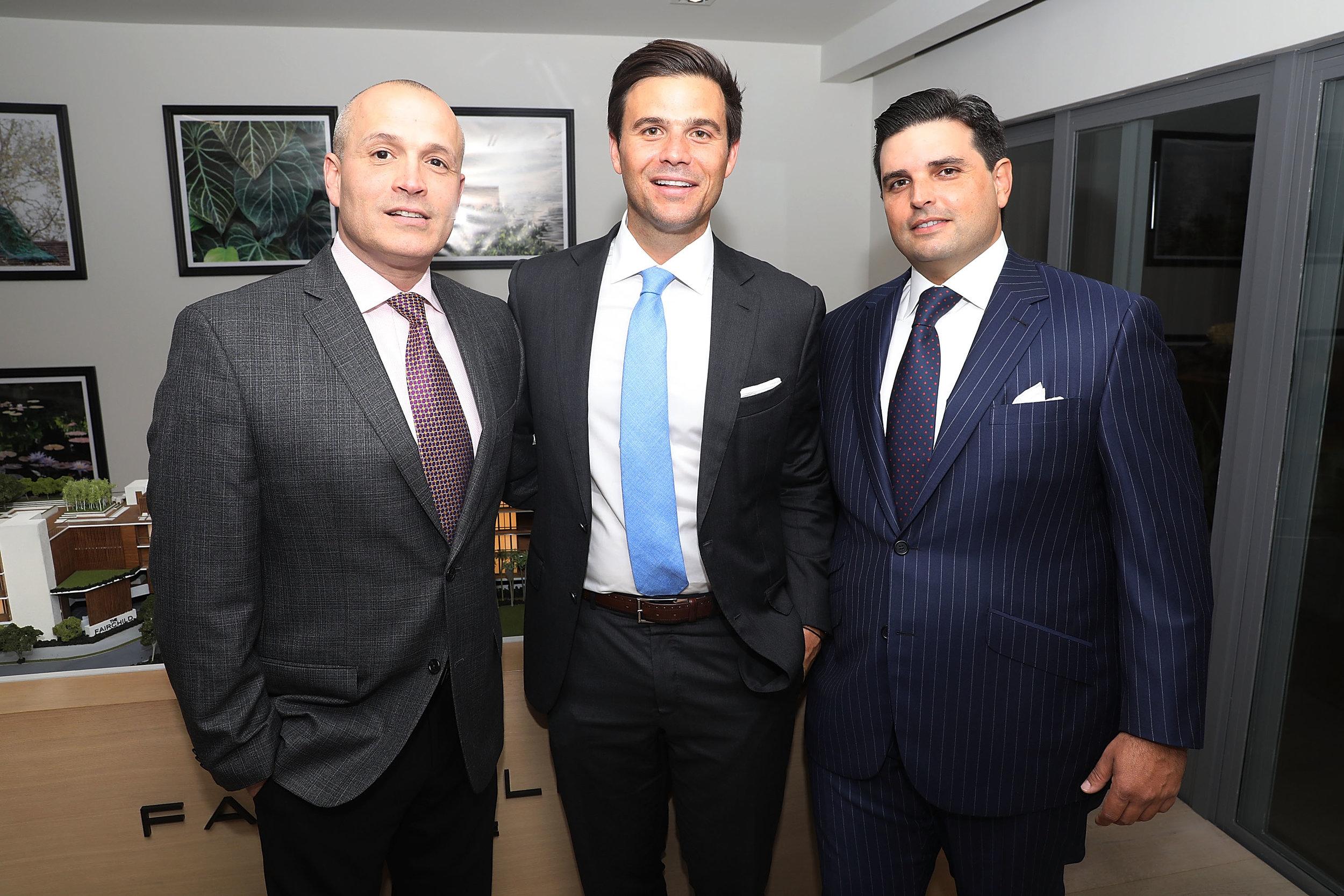 Oscar Rodriguez, Daniel de la Vega and Ricardo Vadia (shown left to right)