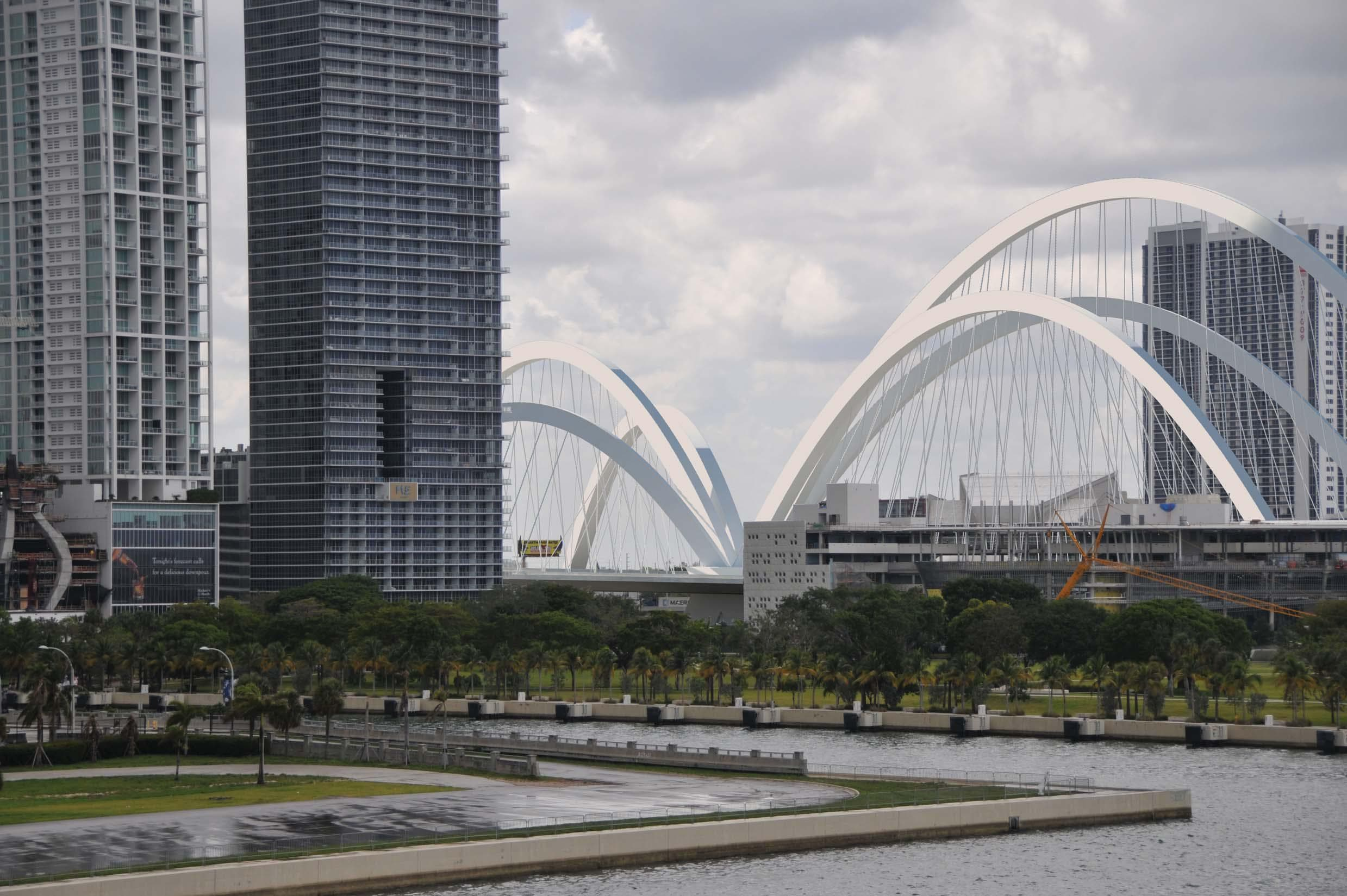 Downtown Miami's $800 Million Signature Bridge Awarded Notice To Proceed By FDOT
