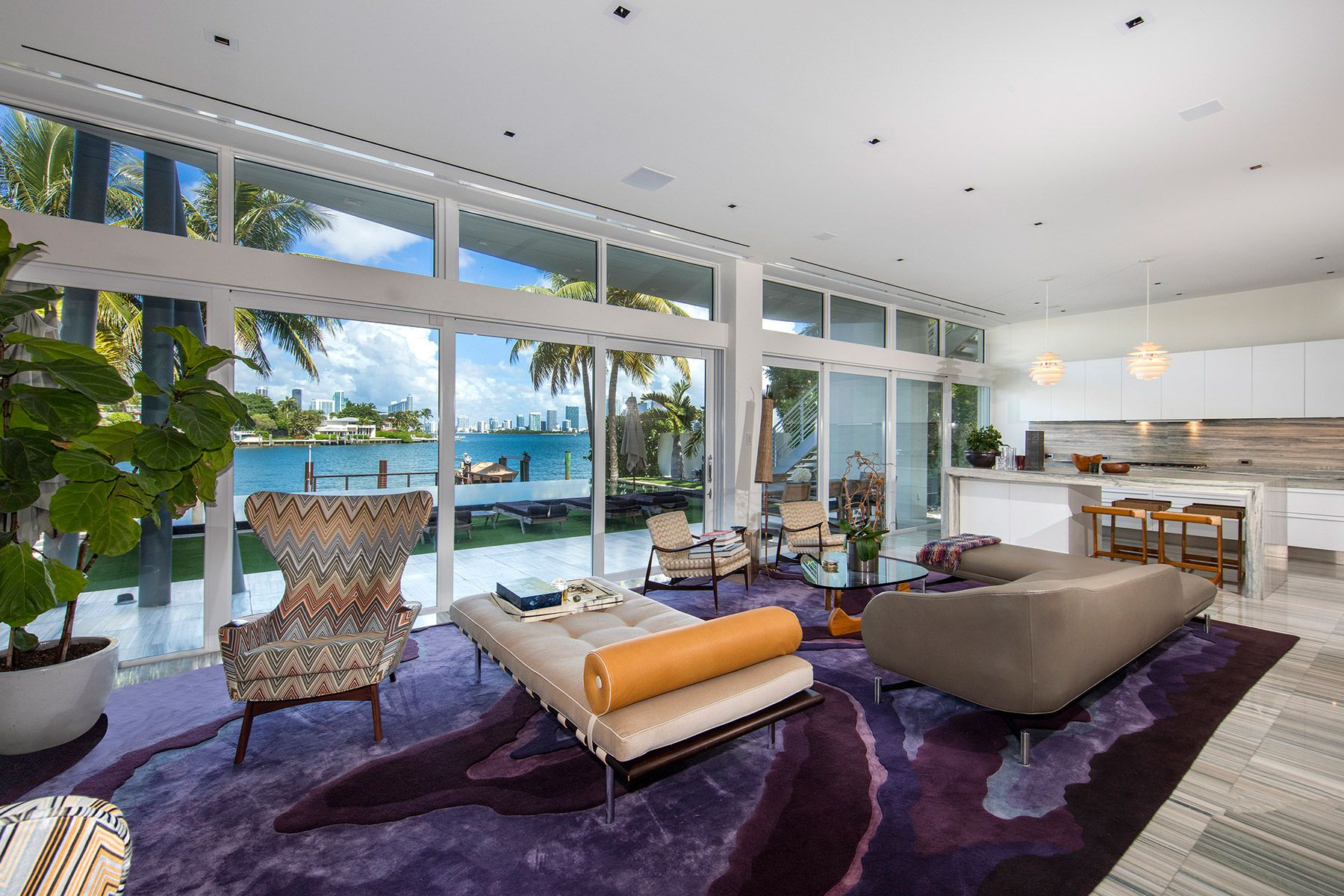 Modern Waterfront on the Venetian Islands Lists for $15.5 Million