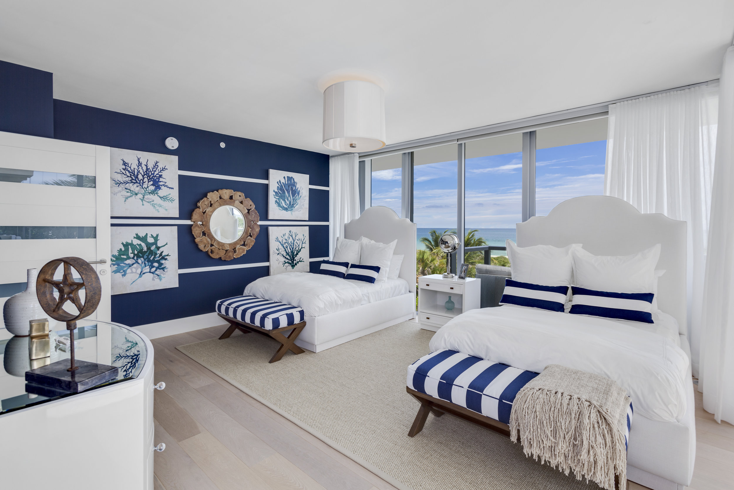 Tour the Beachfront Townhouse in Surfside that Just Sold for $5.7 Million