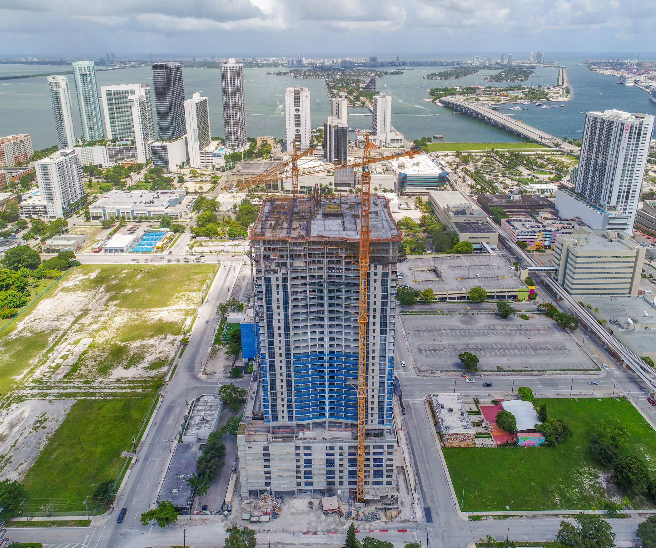 CANVAS Tops off In Miami's Arts + Entertainment District