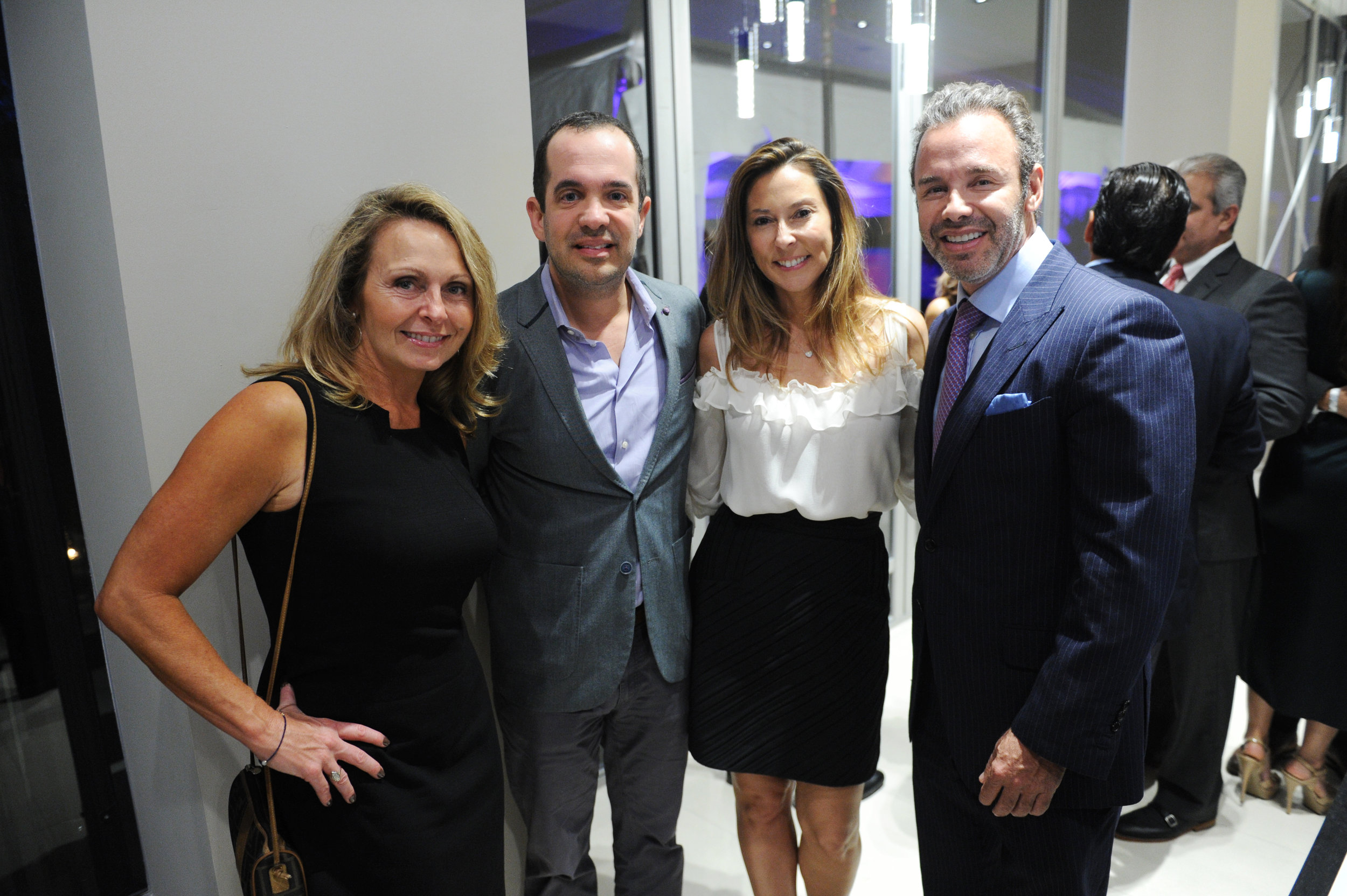 Pamela Bahouth, Chris Dreyfuss, Ivonn Goihman, & Jay Parker
