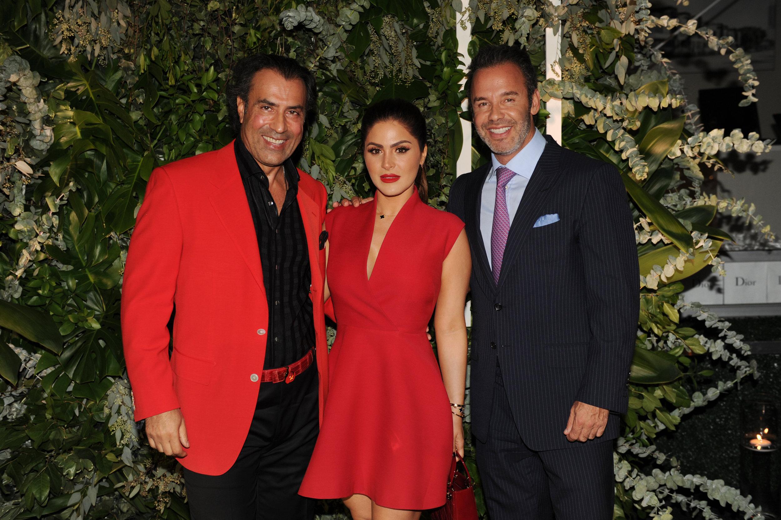 Masoud Shojaee, Stephanie Mejia, & Jay Parker