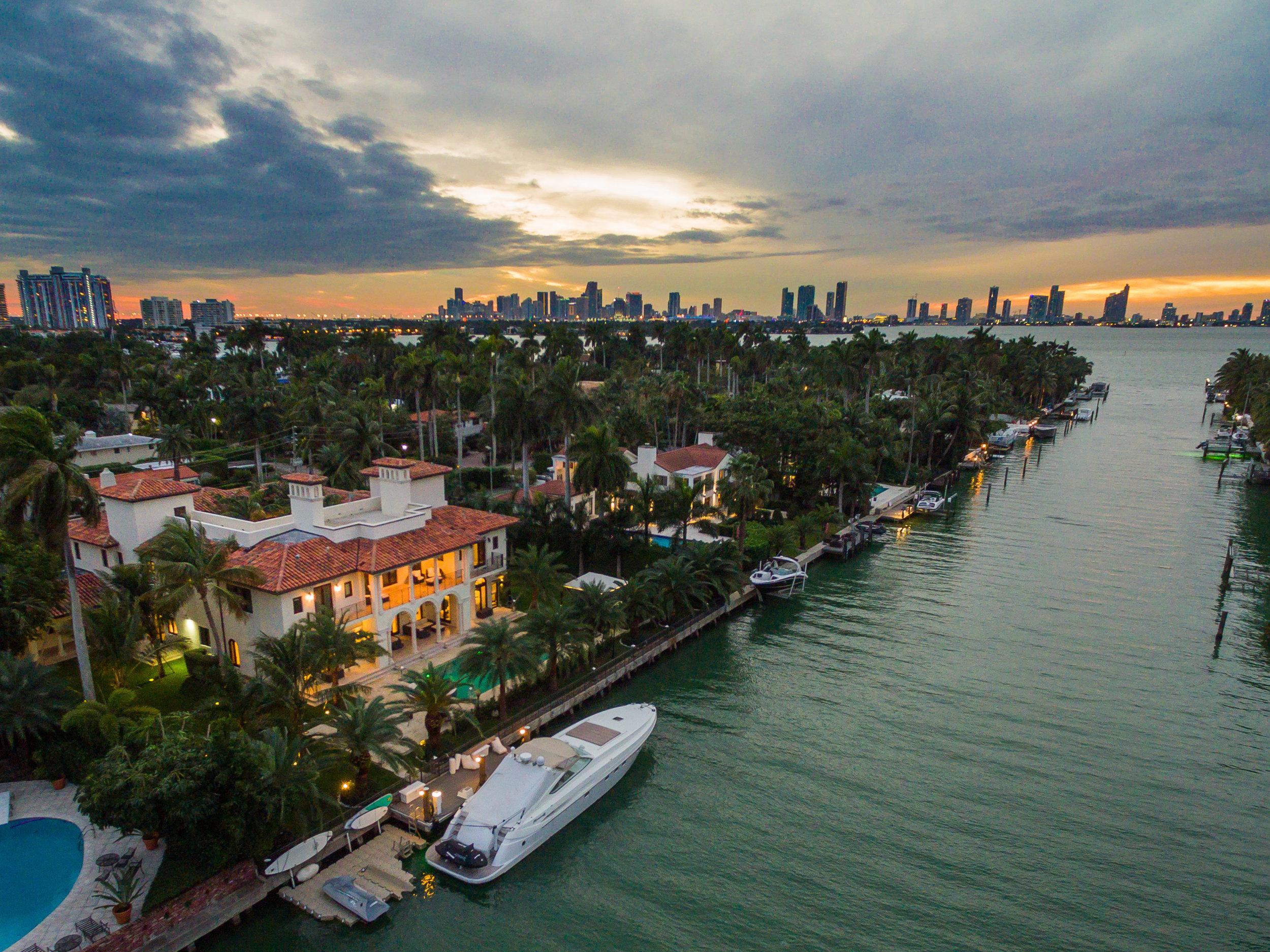 Tour This Rare Mediterranean Bayfront Estate On Miami Beach's Exclusive Sunset Islands