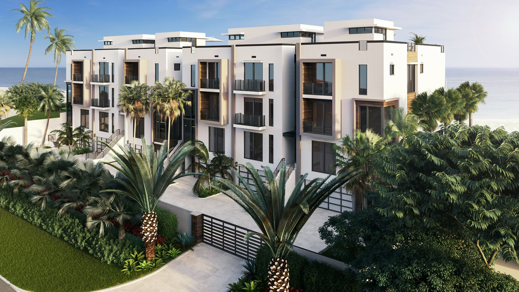 Check Out 3621 South Ocean, The New Beachfront Townhomes Coming To Highland Beach