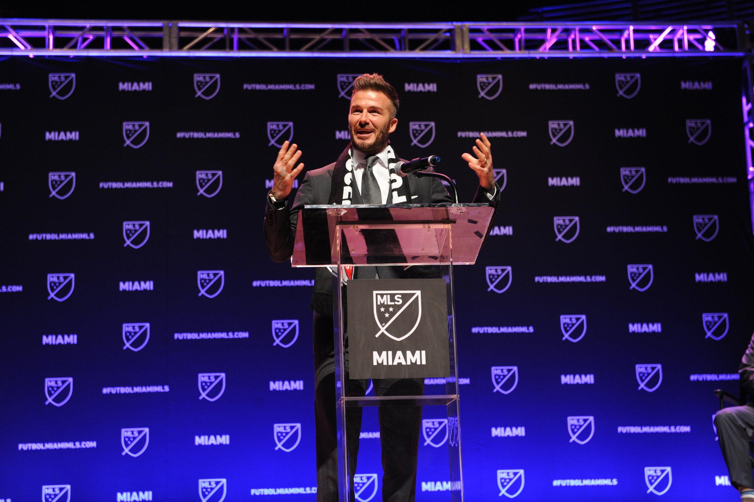 David Beckham's Plans for MLS Stadium Not Going Smoothly