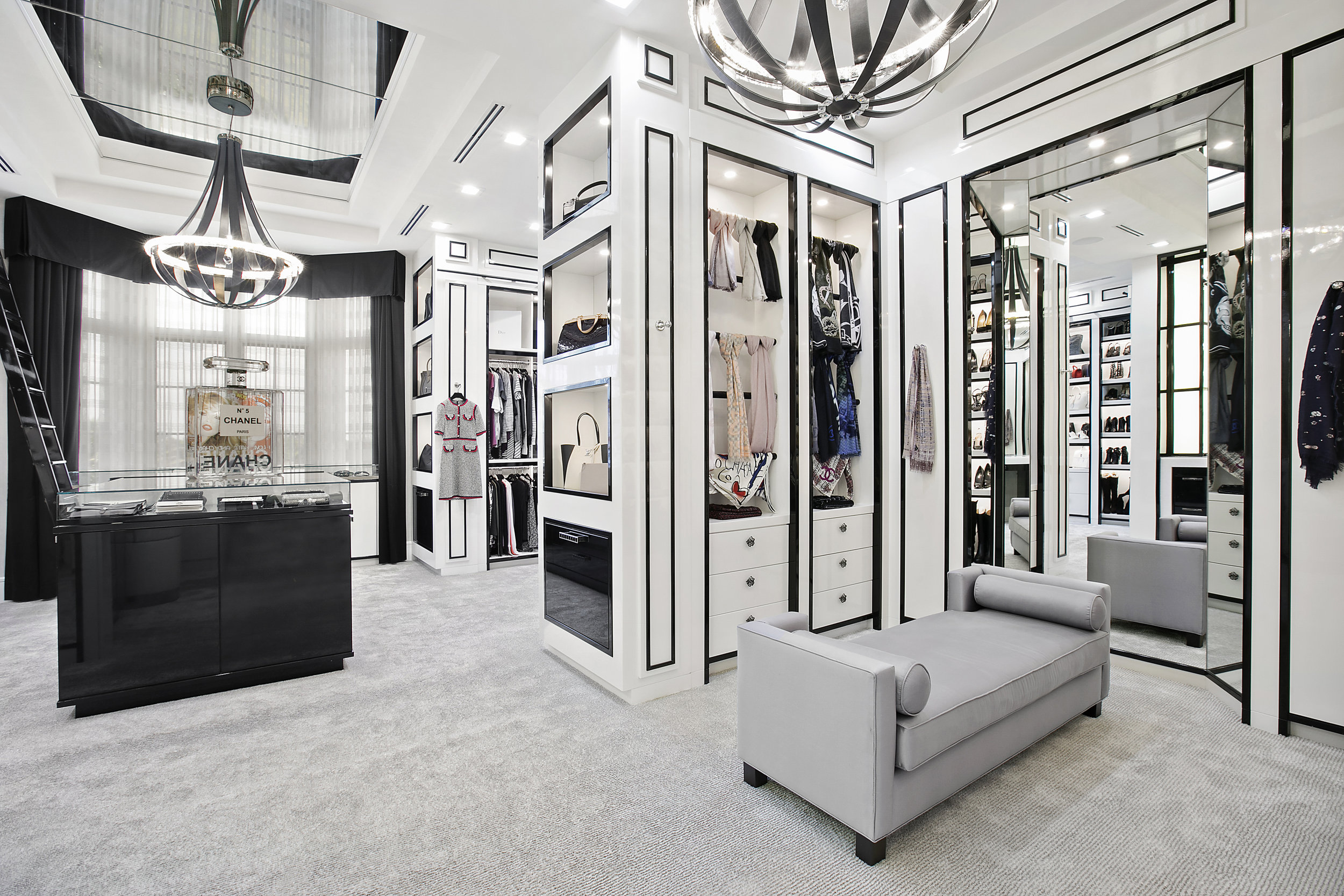 Do You Wish You Had a Chanel Boutique For Your Closet? Only At Delray Beach's Newest $20 Million Listing