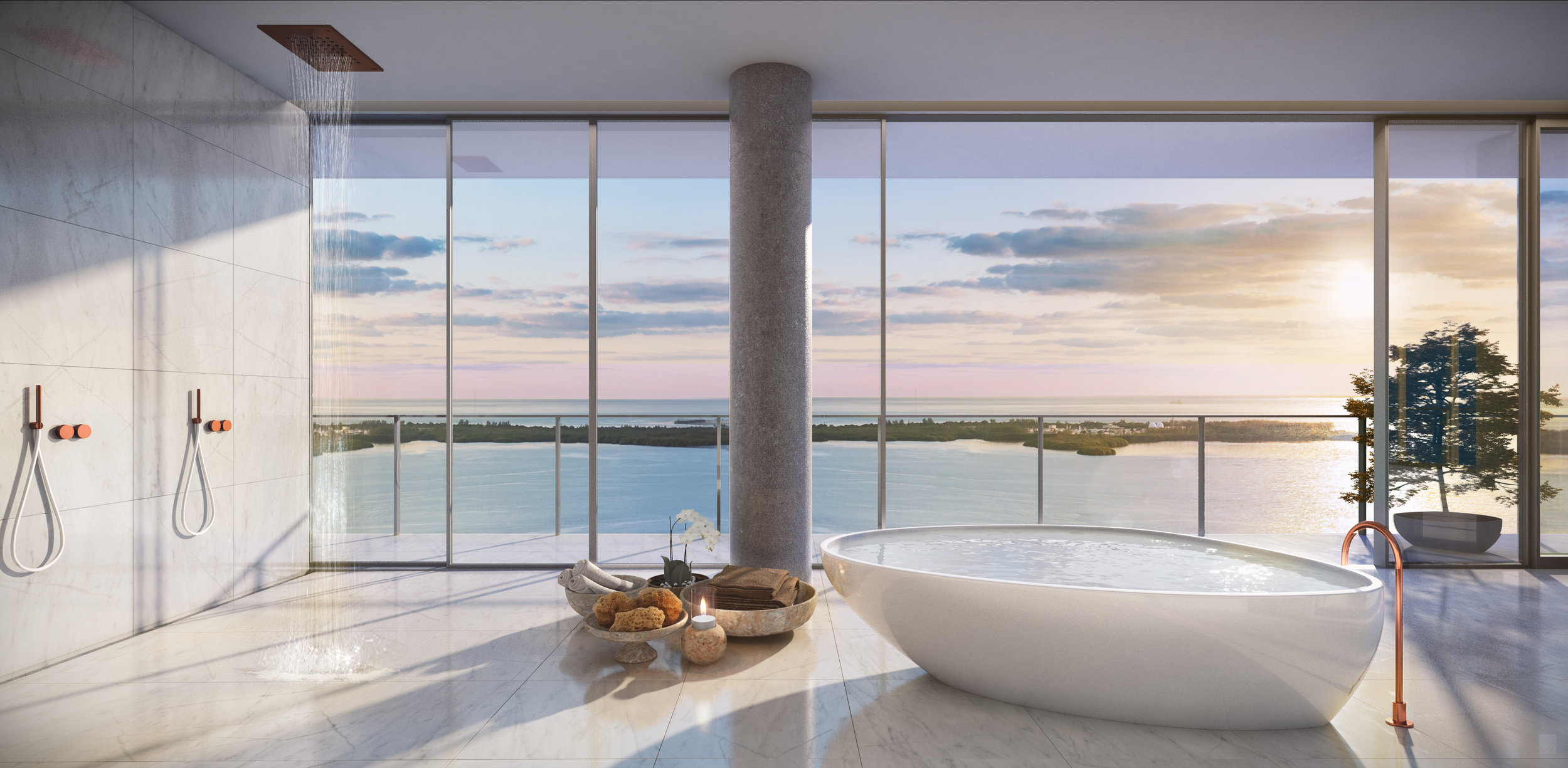 Terra's David Martin Lists His Custom, Catalina Echevarria-Designed Grove at Grand Bay Penthouse For $25 Million